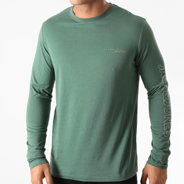 Jack And Jones - Tee Shirt Manches Longues Clayton Vert