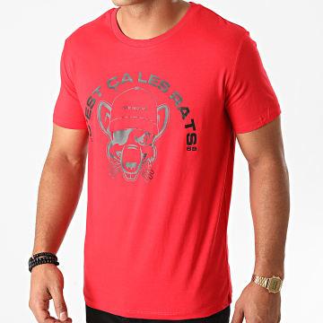L'Allemand - Tee Shirt Rats Rouge Noir