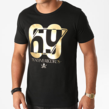 L'Allemand - Tee Shirt 69 Noir Or
