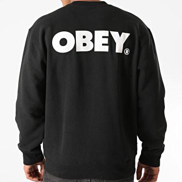 Obey - Sweat Crewneck Obey Bold Noir