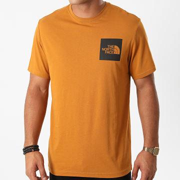 The North Face - Tee Shirt Fine Q5VC Marron Clair