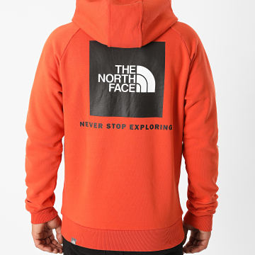 The North Face - Sweat Capuche Raglan Redbox ZWUE Orange