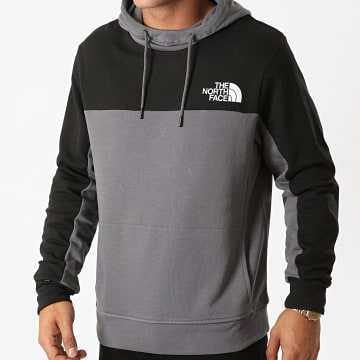 The North Face - Sweat Capuche Himalayan SWNF Gris Anthracite Noir