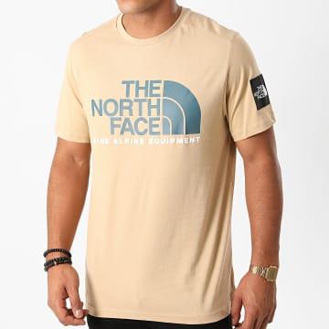 The North Face - Tee Shirt Fine Alp 2 M6NH Beige