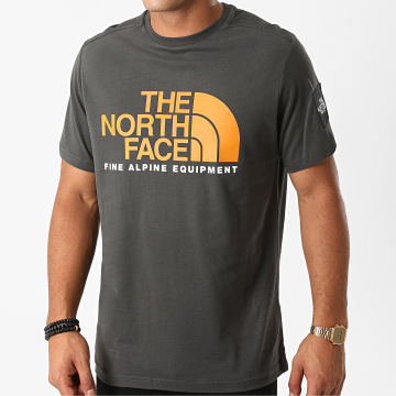 The North Face - Tee Shirt Fine Alp 2 M6N0 Gris Anthracite