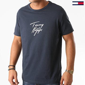 Tommy Hilfiger - Tee Shirt Logo 2245 Bleu Marine