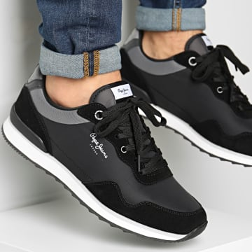 Pepe Jeans - Baskets Cross 4 Urban PMS30669 Black