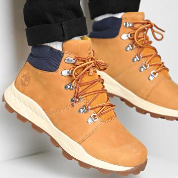 Timberland - Boots Brooklyn Mid Hiker A2EB7 Wheat Nubuck