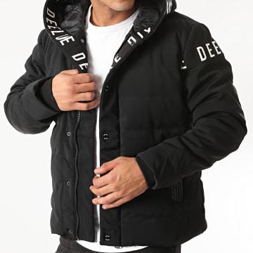 Deeluxe - Doudoune Capuche Gang Noir