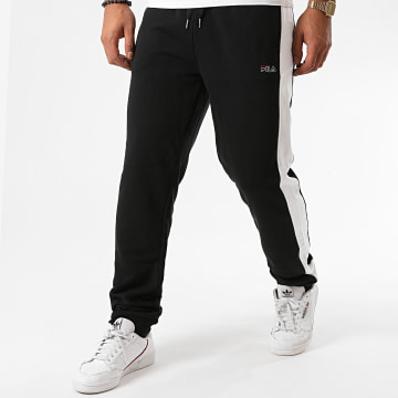 Fila - Pantalon Jogging A Bandes Lars 683187 Noir