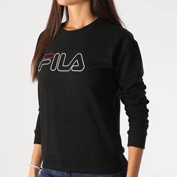Fila - Sweat Crewneck Femme Lara 683501 Noir