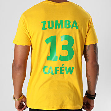 La Franc-Manesserie - Tee Shirt Zumba Cafew Jaune