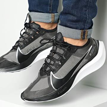 Nike - Baskets Zoom Gravity BQ3202 Black Metallic Silver
