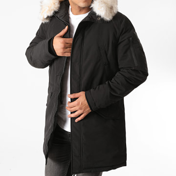 Sixth June - Parka Fourrure M21681SOW Noir