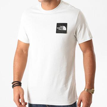 The North Face - Tee Shirt Blackbox Logo A4SZ Blanc