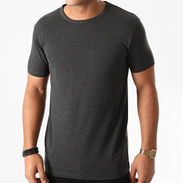 Urban Classics - Tee Shirt TB814 Gris Anthracite Chiné