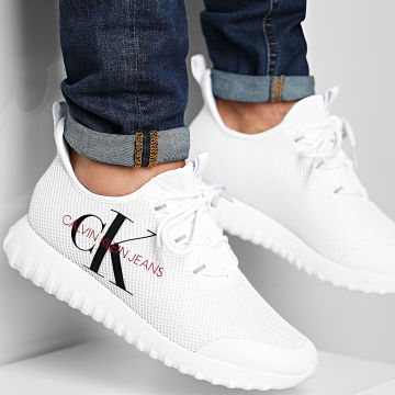 Calvin Klein - Baskets Reiland Slip-On B4S0707 White