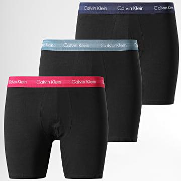 Calvin Klein - Lot de 3 Boxers NB1770A Noir
