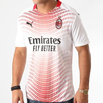 Puma - Tee Shirt De Sport AC Milan Away Replica 757278 Blanc