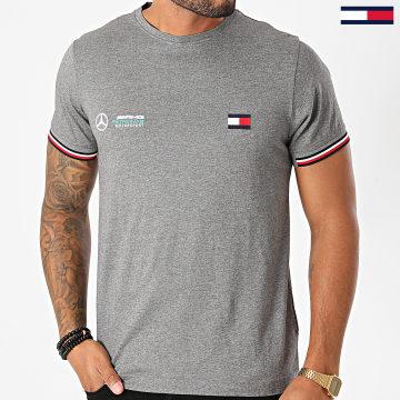 Tommy Hilfiger - Tee Shirt Mercedes-Benz Tipped Logo 8496 Gris Chiné