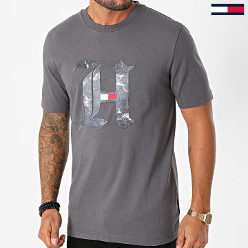 Tommy Hilfiger - Tee Shirt Lewis Hamilton Marble 5296 Gris Anthracite