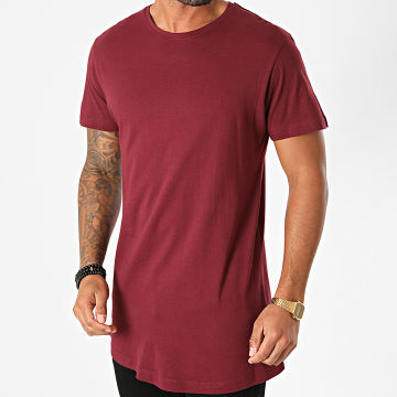 Urban Classics - Tee Shirt Oversize TB638 Bordeaux