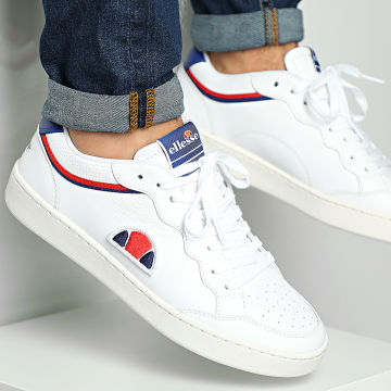 Ellesse - Baskets Archivium Leather 833760 White Blue Red