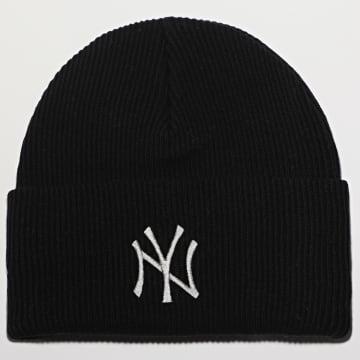 New Era - Bonnet Wordmark Cuff Knit 12489916 New York Yankees Noir