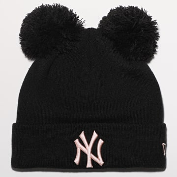 New Era - Bonnet Femme League Essential Double 12489945 New York Yankees Noir