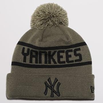 New Era - Bonnet Team Jake Bobble 12490003 New York Yankees Vert Kaki