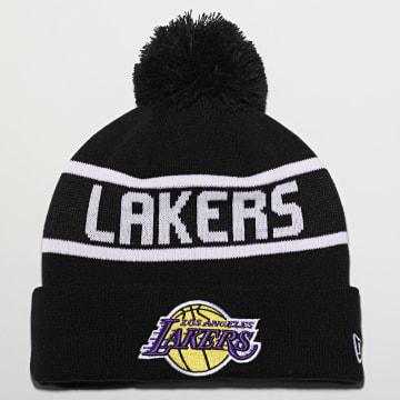 New Era - Bonnet Team Jake Bobble 12490006 Los Angeles Lakers Noir