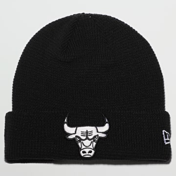 New Era - Bonnet Team Cuff Knit 12490115 Chicago Bulls Noir