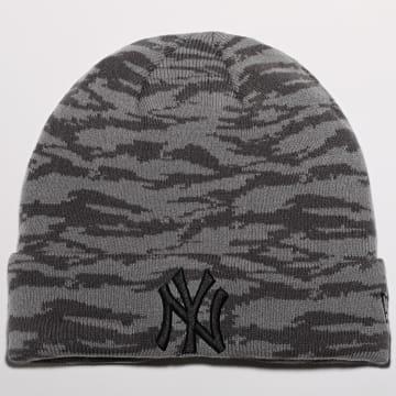 New Era - Bonnet Camo Cuff Knit 12490318 New York Yankees Gris Camo