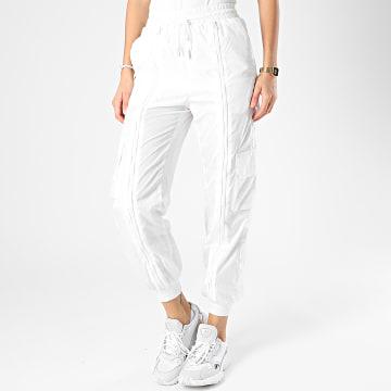 Sixth June - Pantalon Jogging Femme W3950CPA Blanc