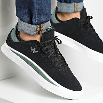 Adidas Originals - Baskets Sabalo FV0694 Core Black Footwear White Tech Green
