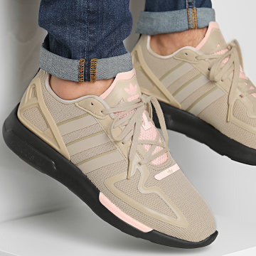Adidas Originals - Baskets ZX 2K Flux FV9977 Pale Nude Core Black Vapour Pink