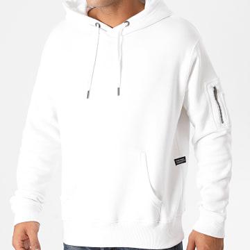 Blend - Sweat Capuche 20711999 Blanc