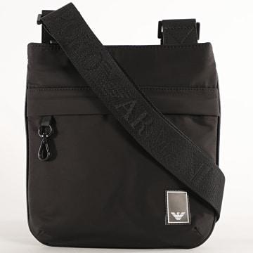 Emporio Armani - Sacoche Travel Essential Y4M235 Noir