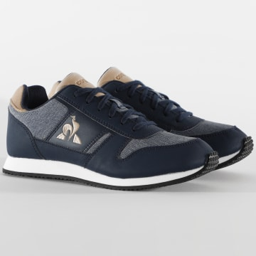 Le Coq Sportif - Baskets Femme Jazy Classic 2020282 Dress Blue Tan