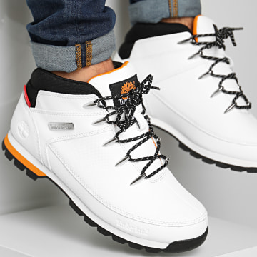 Timberland - Boots Euro Sprint Mid Hiker A2DZT White Helcor