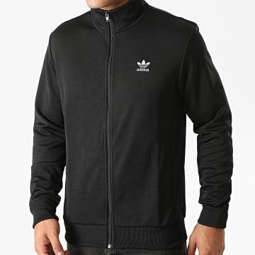 Adidas Originals - Veste Zippée A Bandes Essential GD2548 Noir