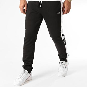 BOSS - Pantalon Jogging A Bandes Halvo 50434907 Noir
