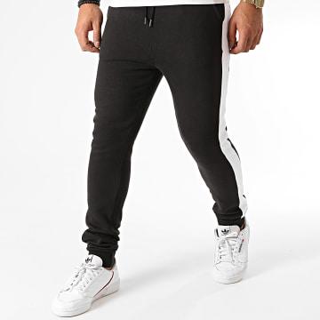 Celio - Pantalon Jogging A Bandes Soset Noir