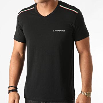 Emporio Armani - Tee Shirt 110853-0A512 Noir Doré