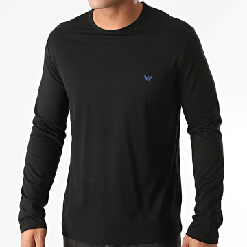 Emporio Armani - Tee Shirt Manches Longues 111653-0A722 Noir