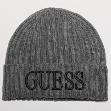 Guess - Bonnet AM8724 Gris Chiné