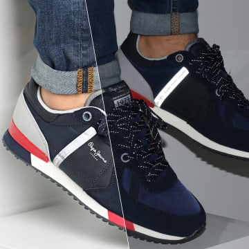 Pepe Jeans - Baskets Tinker Zero Second PMS30659 Navy