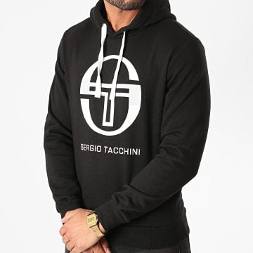 Sergio Tacchini - Sweat Capuche Zion 37704 Noir