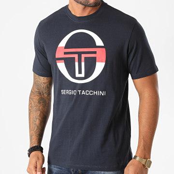 Sergio Tacchini - Tee Shirt Iberis 020 38714 Bleu Marine