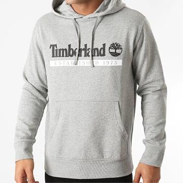Timberland - Sweat Capuche Estab 1973 A2AMS Gris Chiné